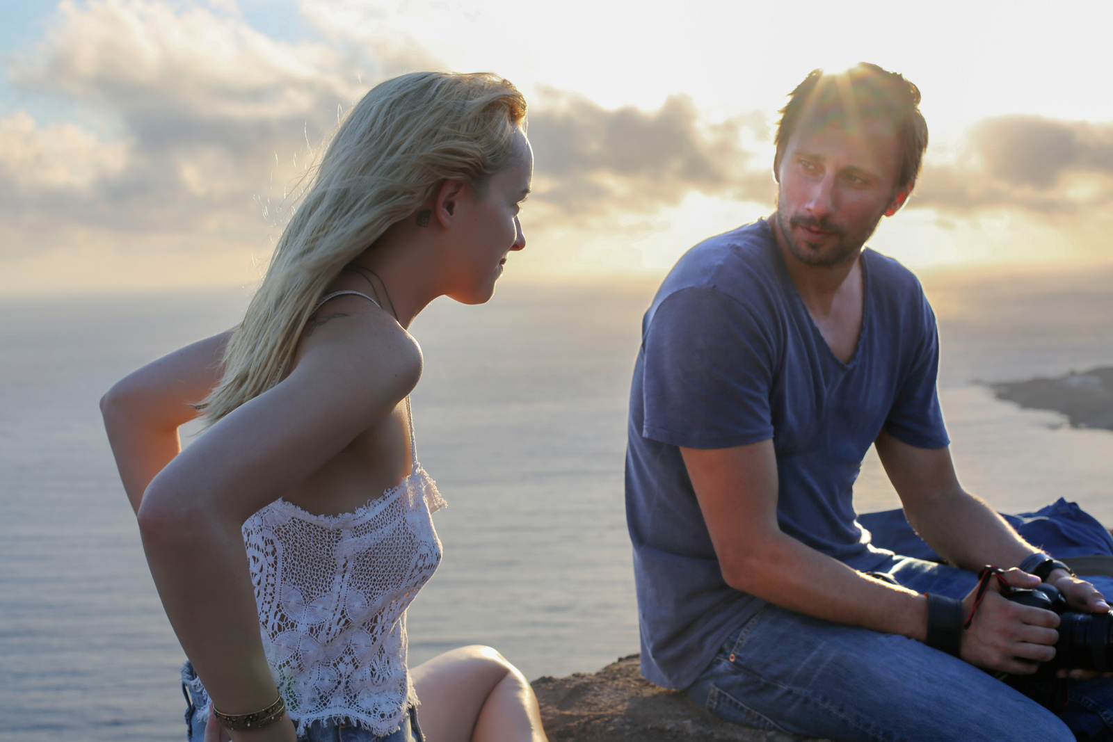 A Bigger Splash -  Dakota Johnson et Matthias Schoenaerts