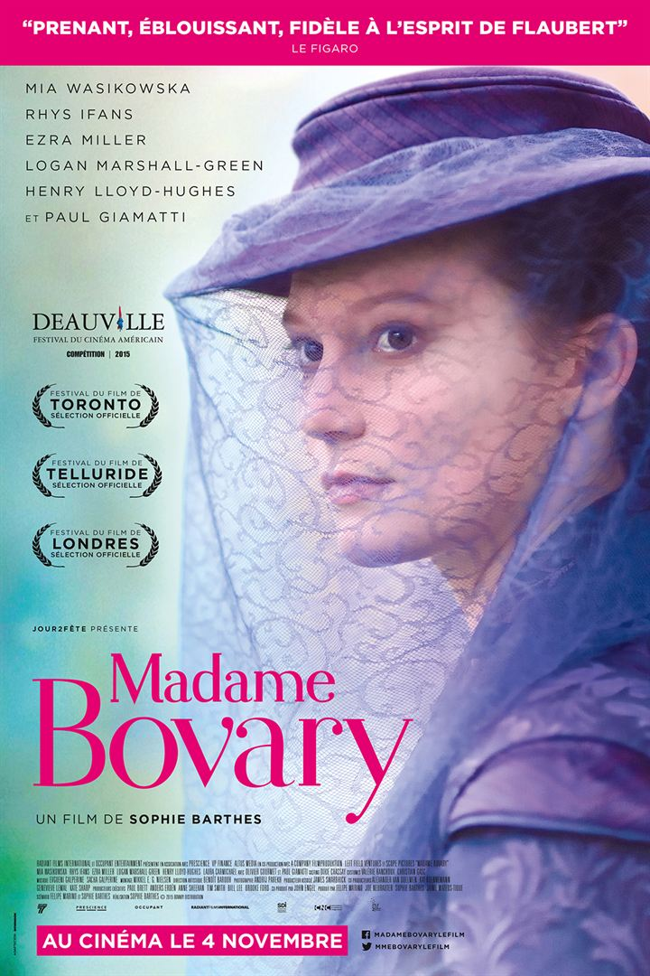Madame Bovary (2014) affiche