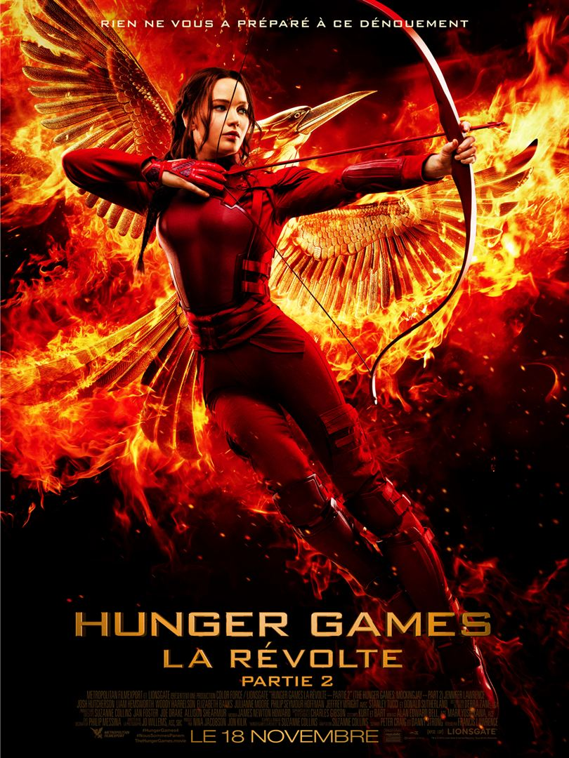 HUNGER GAMES - LA RÉVOLTE : PARTIE 2 en streaming