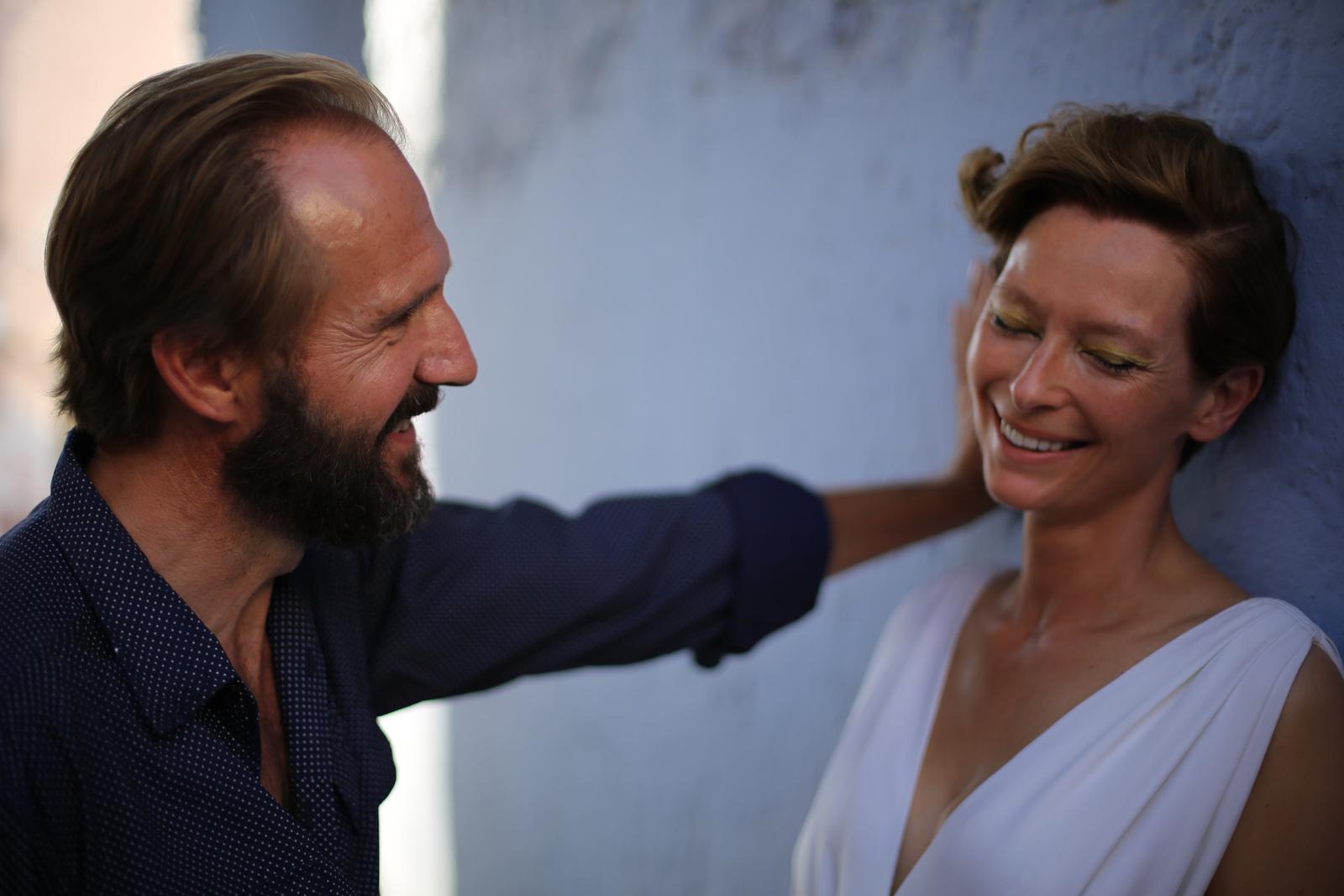 A Bigger Splash -  Ralph Fiennes et Tilda Swinton