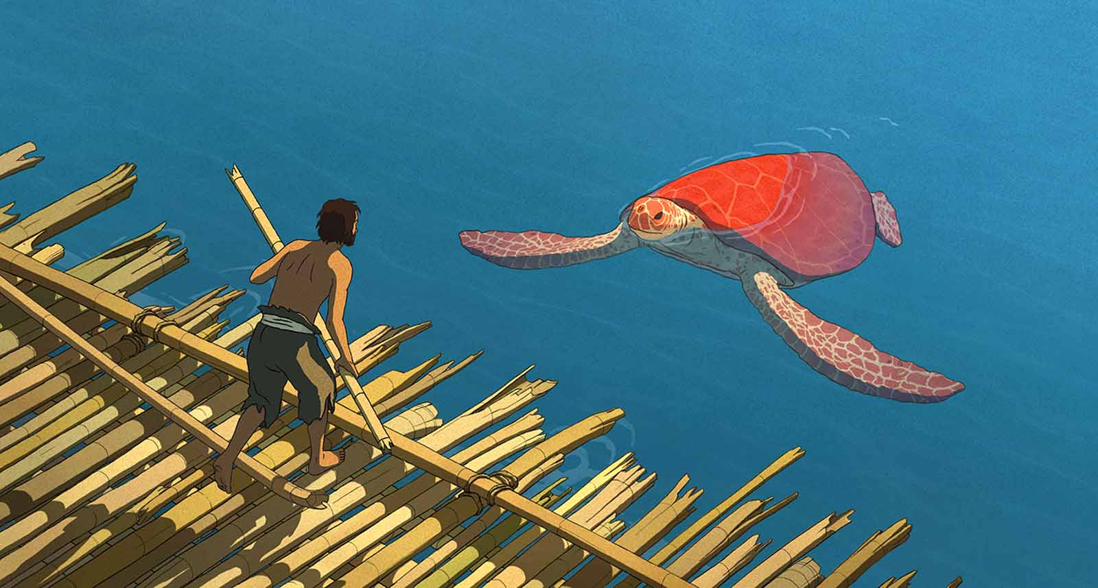 The Red Turtle (La Tortue Rouge) Full Movie