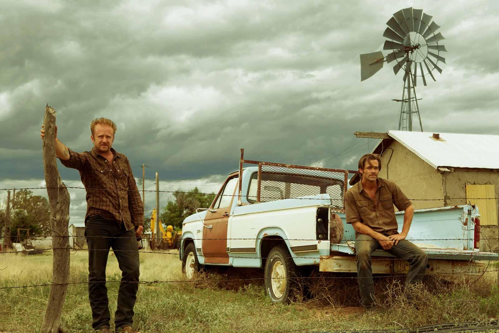 Comancheria - Ben Foster et Chris Pine