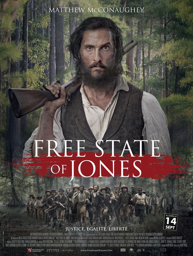 The Free State Of Jones en streaming