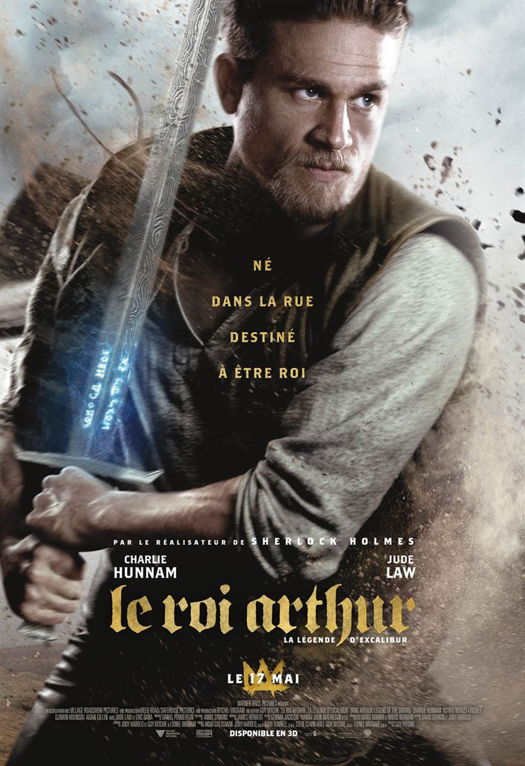 Le Roi Arthur 2017: La Légende d'Excalibur en streaming