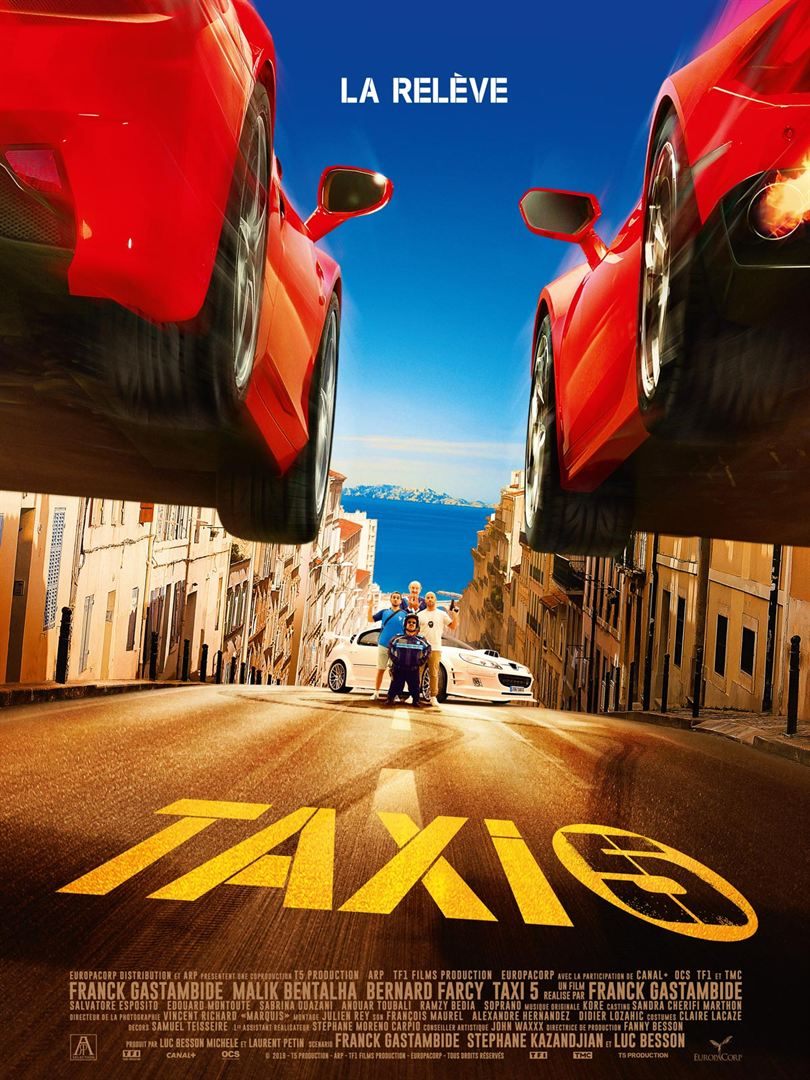 Taxi 5 affiche