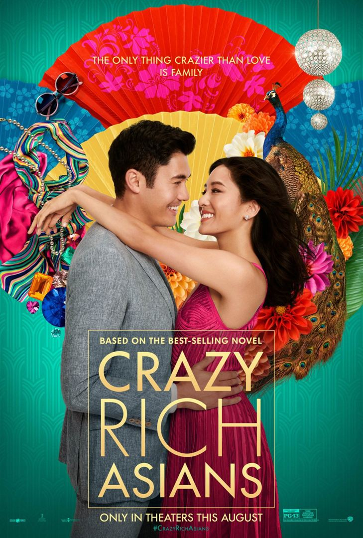 Crazy rich asians affiche
