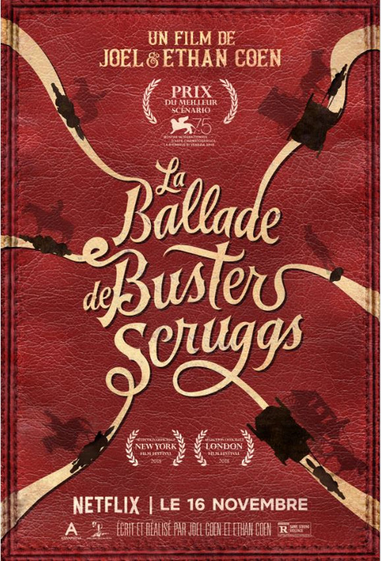Buster Scruggs affiche