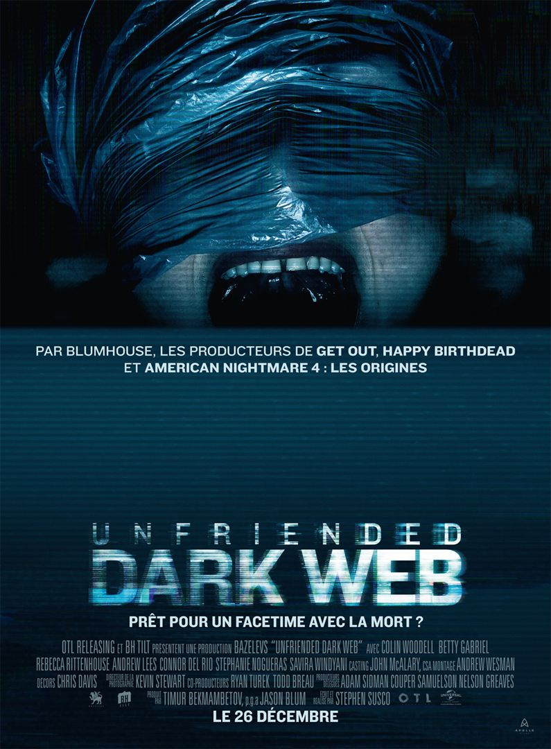 Unfriended dark web affiche
