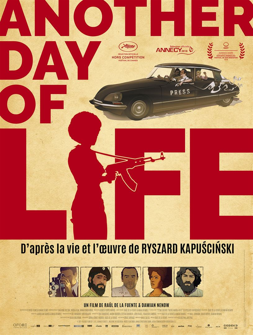 Another day of life affiche