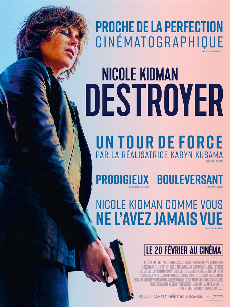 Destroyer affiche