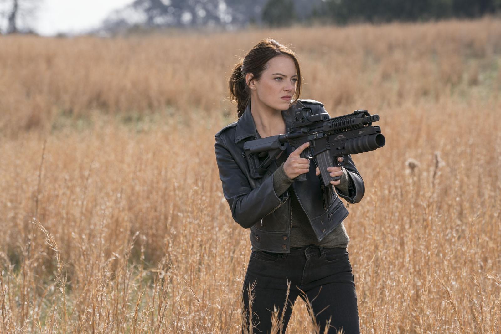 Emma Stone dans Zombieland 2