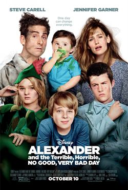 regarder Alexander and the Terrible, Horrible, No Good, Very Bad Day en streaming