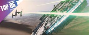 Le Top 5 des vaisseaux dans Star Wars [VIDEO]