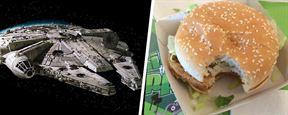 Que la force du Burger soit avec vous ! L'origine du vaisseau Faucon Millenium