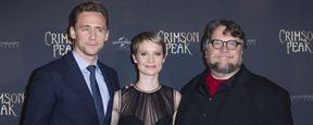 Crimson Peak : Mia Wasikowska et Tom Hiddleston posent lors de l'avant-première parisienne