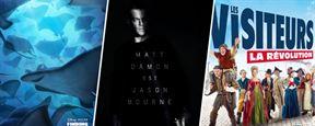 Jason Bourne, Le Monde de Dory, Les Visiteurs 3... Les 20 photos ciné de la semaine !