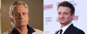 Avengers Infinity War : Michael Douglas veut faire équipe avec Jeremy Renner