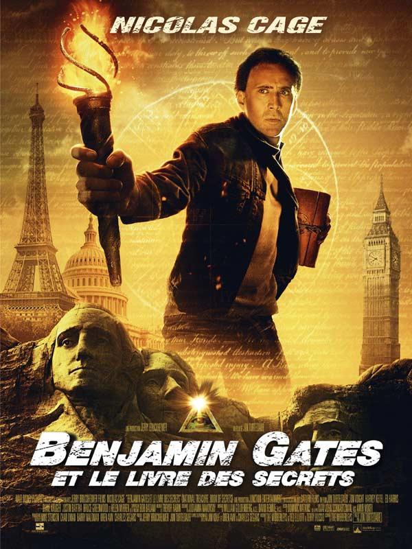 Benjamin Gates et le Livre des Secrets [Multilangues][Bluray 720p]