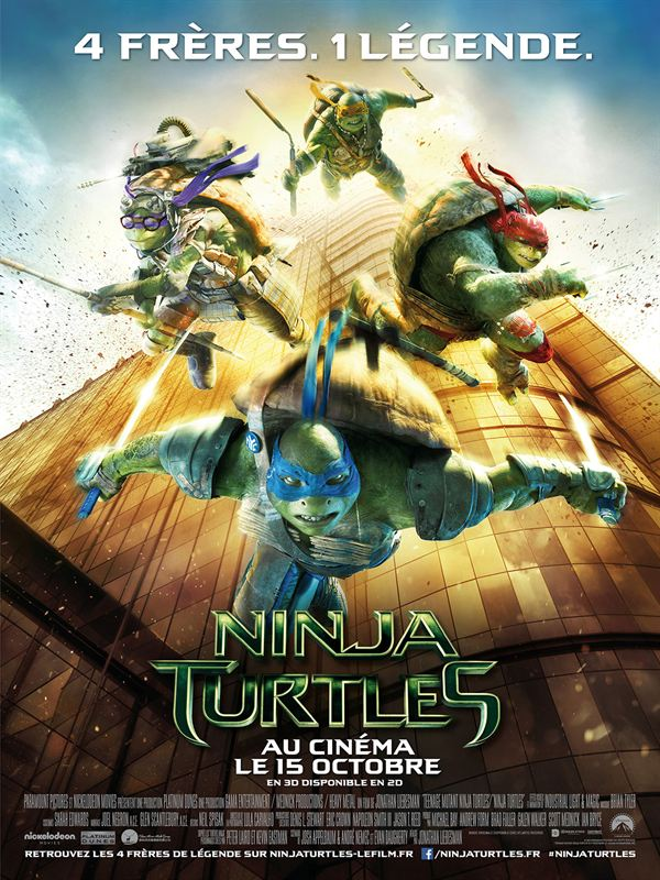Telecharger Ninja Turtles BDRiP  TRUEFRENCH Gratuitement