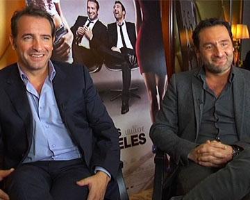 Vid o de les infid les jean dujardin gilles lellouche for Dujardin interview