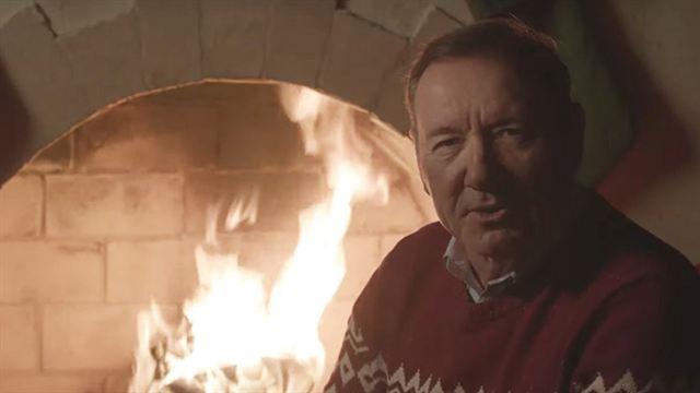 House of Cards : l'étrange vidéo de Noël de Kevin Spacey