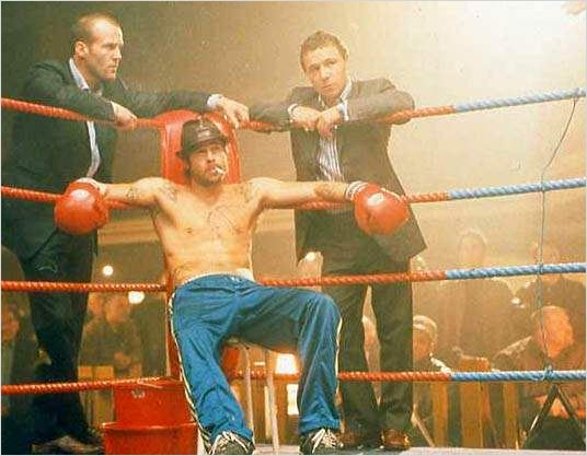 Snatch : Photo Brad Pitt, Guy Ritchie, Jason Statham, Stephen Graham