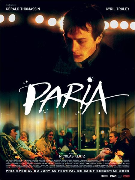 Paria : affiche Cyril Troley, Nicolas Klotz