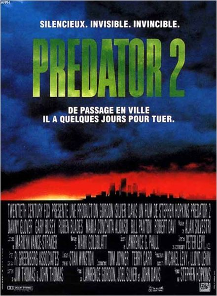 Predator 2 : Affiche Stephen Hopkins