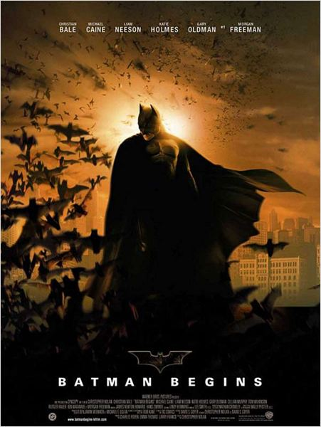 Batman Begins : Affiche