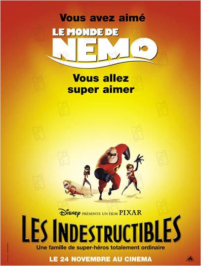 Les Indestructibles : photo Brad Bird