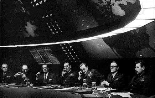 Docteur Folamour : Photo George C. Scott, Stanley Kubrick