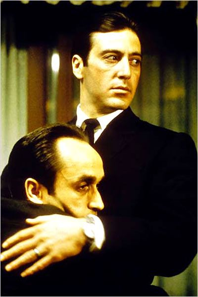 Le Parrain, 2e partie : photo Al Pacino, Francis Ford Coppola, John Cazale