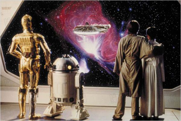 Star Wars : Episode V - L'Empire contre-attaque : photo Anthony Daniels, Carrie Fisher, George Lucas, Irvin Kershner, Kenny Baker