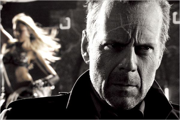 Sin City : Photo Bruce Willis, Jessica Alba