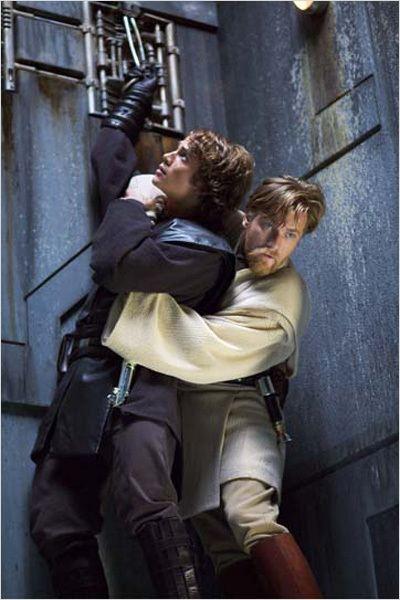 Star Wars : Episode III - La Revanche des Sith : photo Ewan McGregor, George Lucas, Hayden Christensen