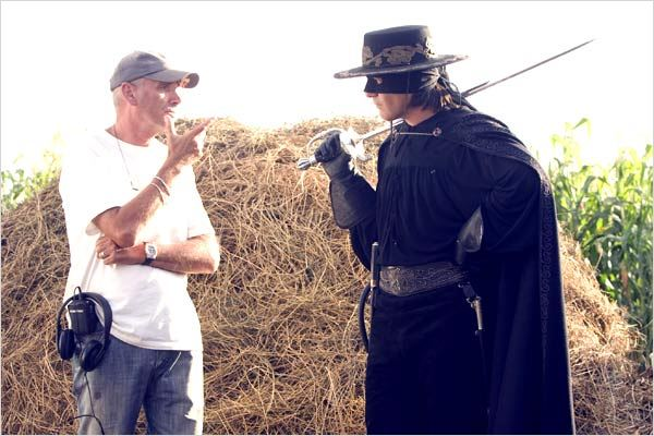 La Légende de Zorro : photo Antonio Banderas, Martin Campbell