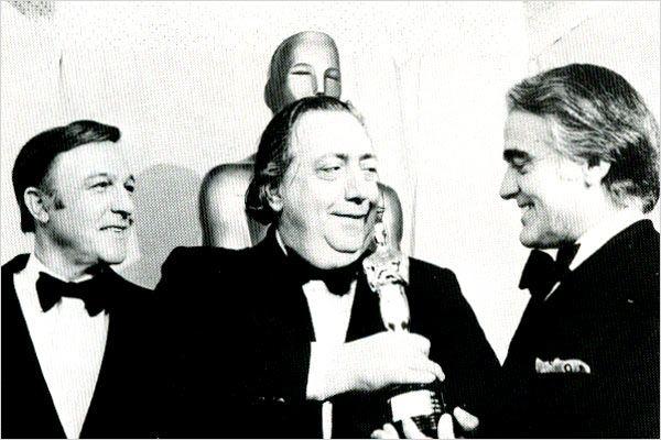 Le Fantôme d'Henri Langlois : Photo Gene Kelly, Henri Langlois, Jack Valenti, Jacques Richard