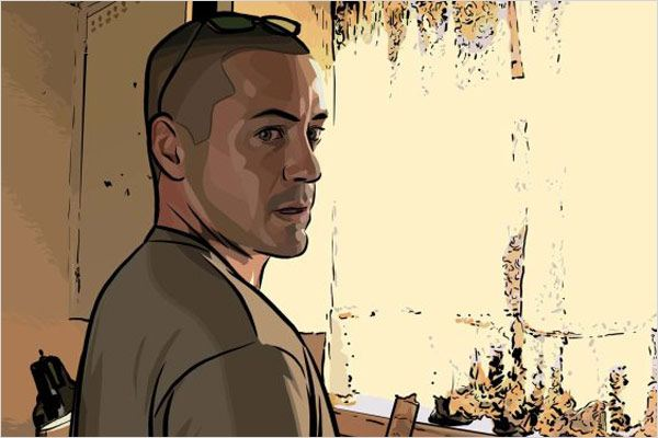 A Scanner Darkly : Photo Richard Linklater, Robert Downey Jr.