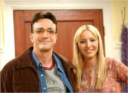 Friends : photo Hank Azaria, Lisa Kudrow