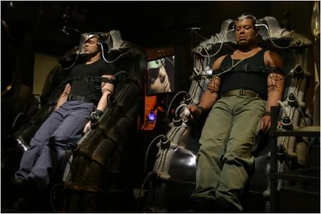 Stargate SG-1 : photo Christopher Judge, Michael Shanks
