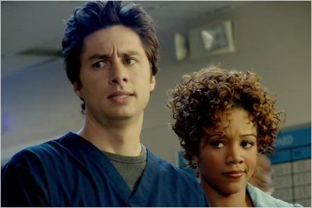 Scrubs : photo Chrystee Pharris, Zach Braff