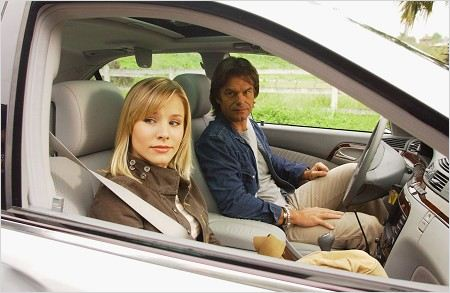 Veronica Mars : photo Harry Hamlin, Kristen Bell