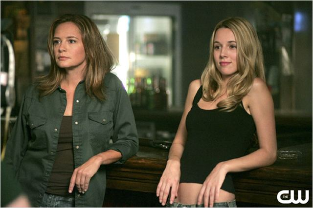 Supernatural : Photo Alona Tal, Samantha Ferris