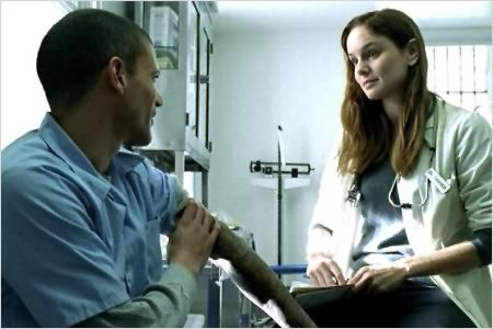Prison Break : photo Sarah Wayne Callies, Wentworth Miller