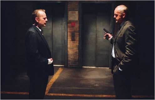 16 Blocs : Photo Bruce Willis, David Morse, Richard Donner