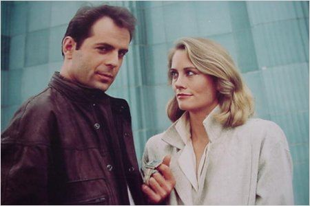 Clair de lune : photo Bruce Willis, Cybill Shepherd