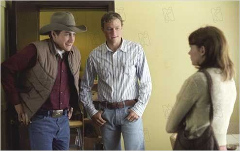 Le Secret de Brokeback Mountain : Photo Ang Lee, Heath Ledger, Jake Gyllenhaal, Michelle Williams