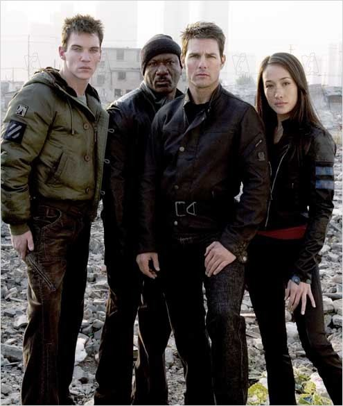 Mission: Impossible III : Photo J.J. Abrams, Jonathan Rhys Meyers, Tom Cruise