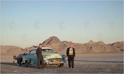 Burt Munro : photo Anthony Hopkins, Patrick Flueger, Roger Donaldson