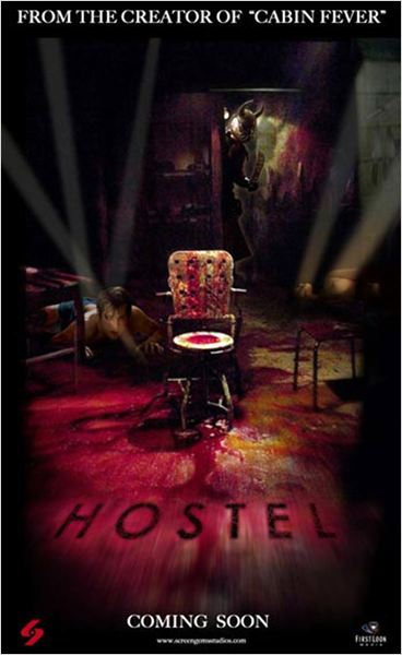 Hostel : affiche Eli Roth